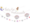 Let's Be Mermaids Party Garland