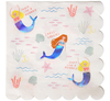 Mermaid Lunch Party Napkins