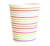 Rainbow Stripe Party Cup