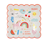Unicorn Small Party Plate