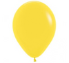 Yellow 30cm Latex Birthday Party Balloons