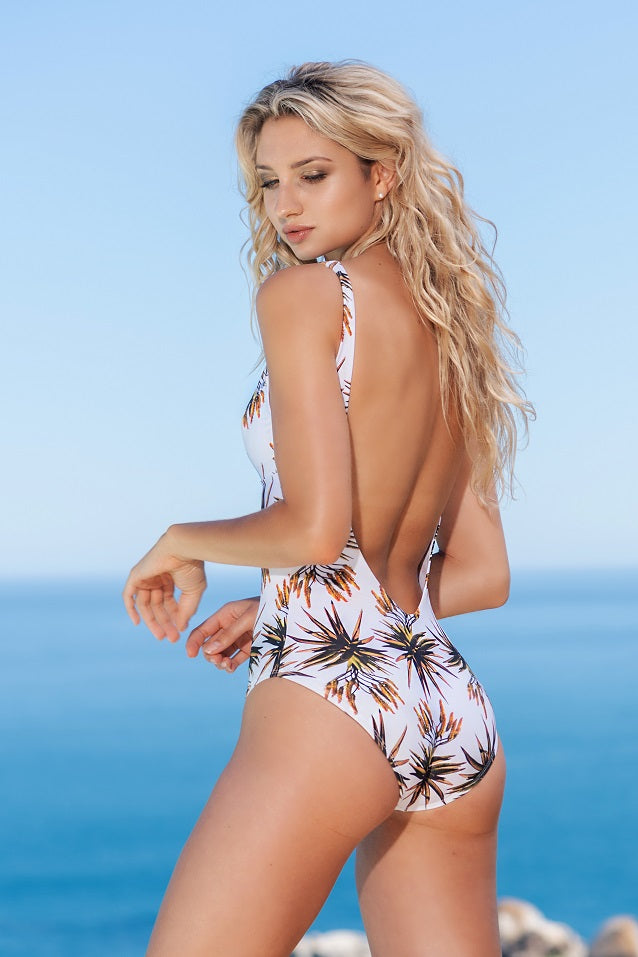 Aloe Backless One-Piece