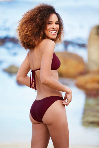 Maroon High - Leg Bottoms