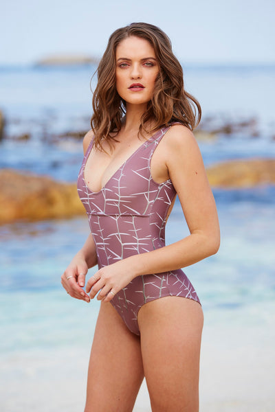Acacia Thorn Backless One-Piece