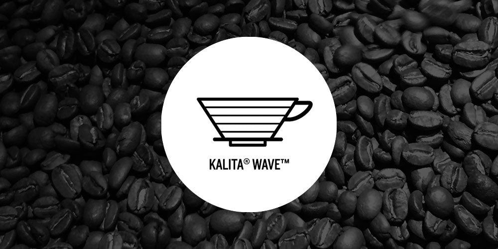 Brewing with Kalita Wave