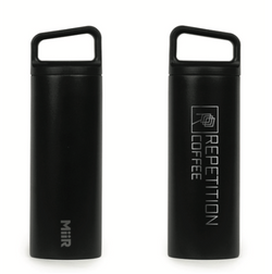 Repetition Coffee Etched Logo Thermos / MiiR 16 oz Wide Mouth