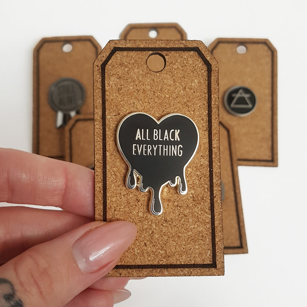 Cork Tags for Enamel Pins