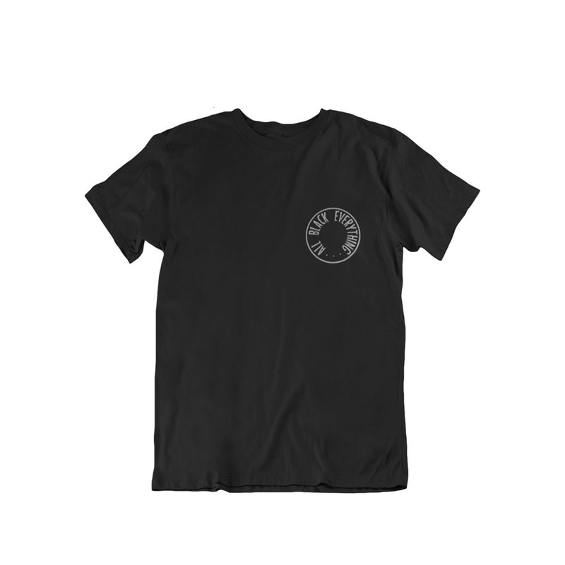 All Black Everything Short Sleeve Shirt [Circular Variant]