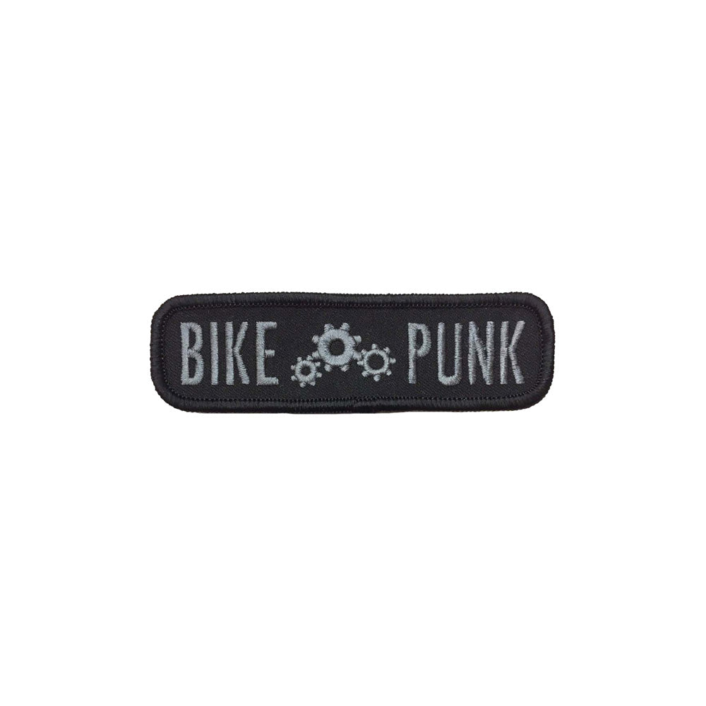 Bike Punk Embroidered Patch