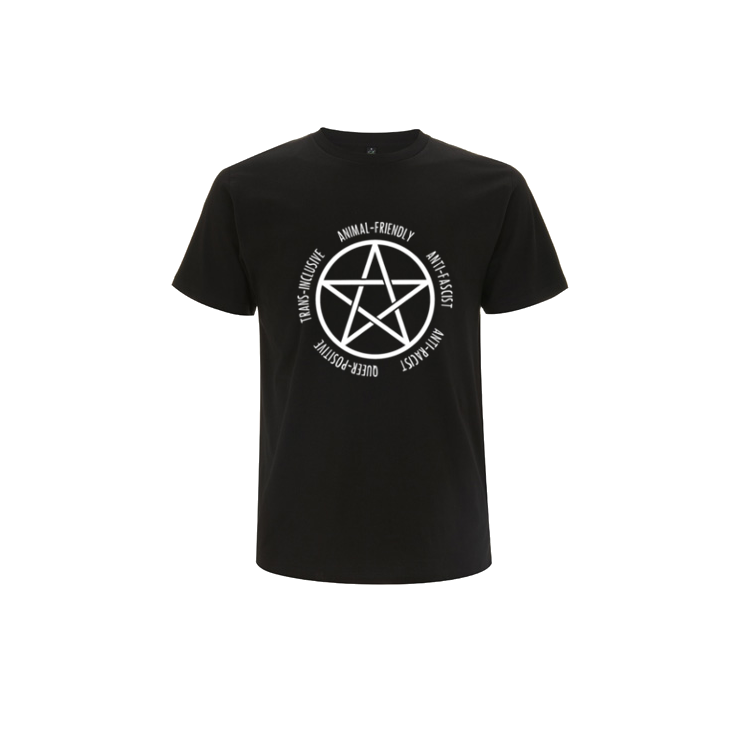 Intersectional Witchcraft Pentagram Short Sleeve Shirt