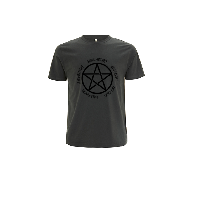 Pentagram Short Sleeve [LE Shirt, Dark Grey]