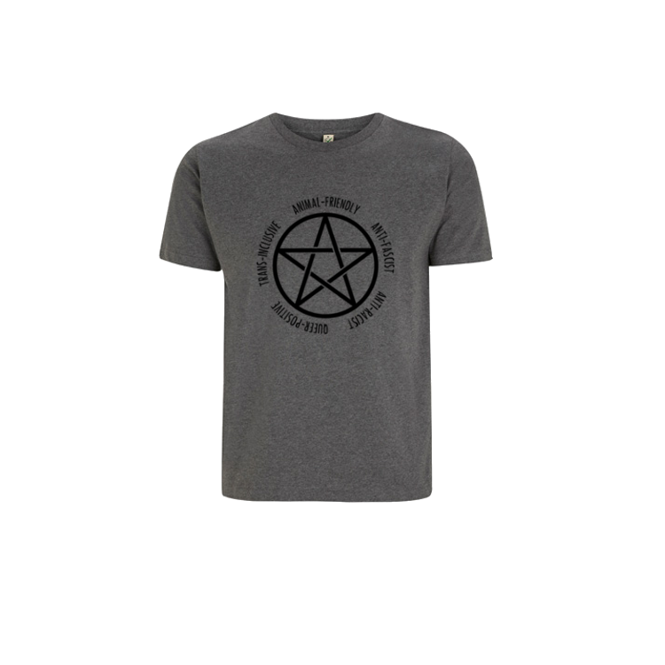 Pentagram Short Sleeve [Heather Grey]
