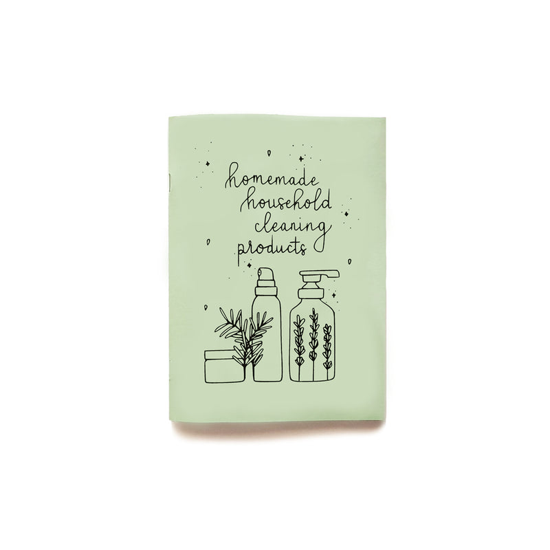 Homemade Household Cleaning Products A5 Zine