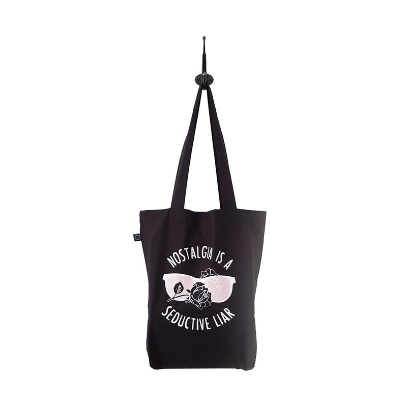 Nostalgia is a Seductive Liar Tote Bag