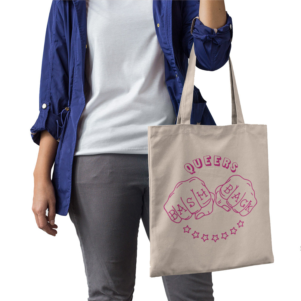 Queers Bash Back Tote Bag