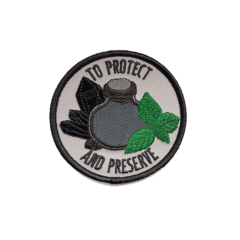 To Protect and Preserve Embroidered Patch