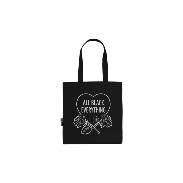 All Black Everything Roses [LE Tote]