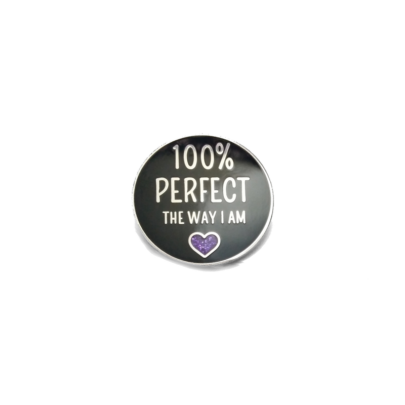 100% Perfect [LE Pin, Purple Variant]