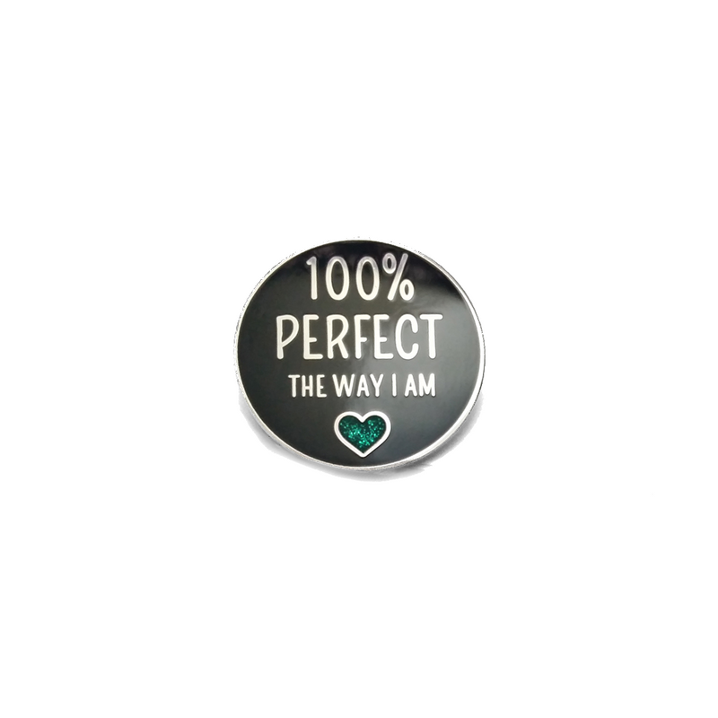 100% Perfect [LE Pin, Teal Variant]