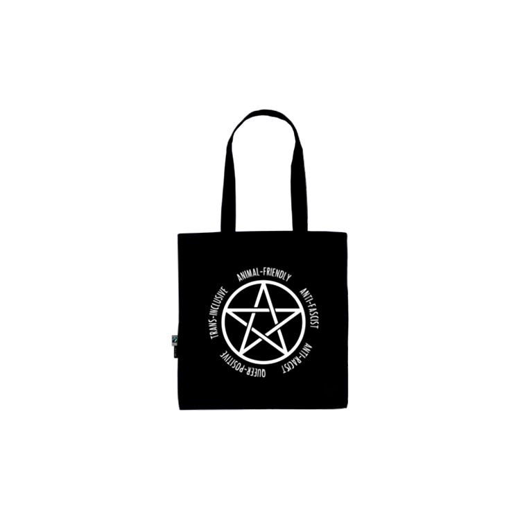 Intersectional Witchcraft Pentagram Tote