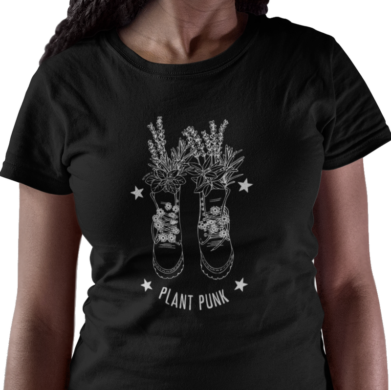 Plant Punk Short Sleeve Shirt - LAST CHANCE!