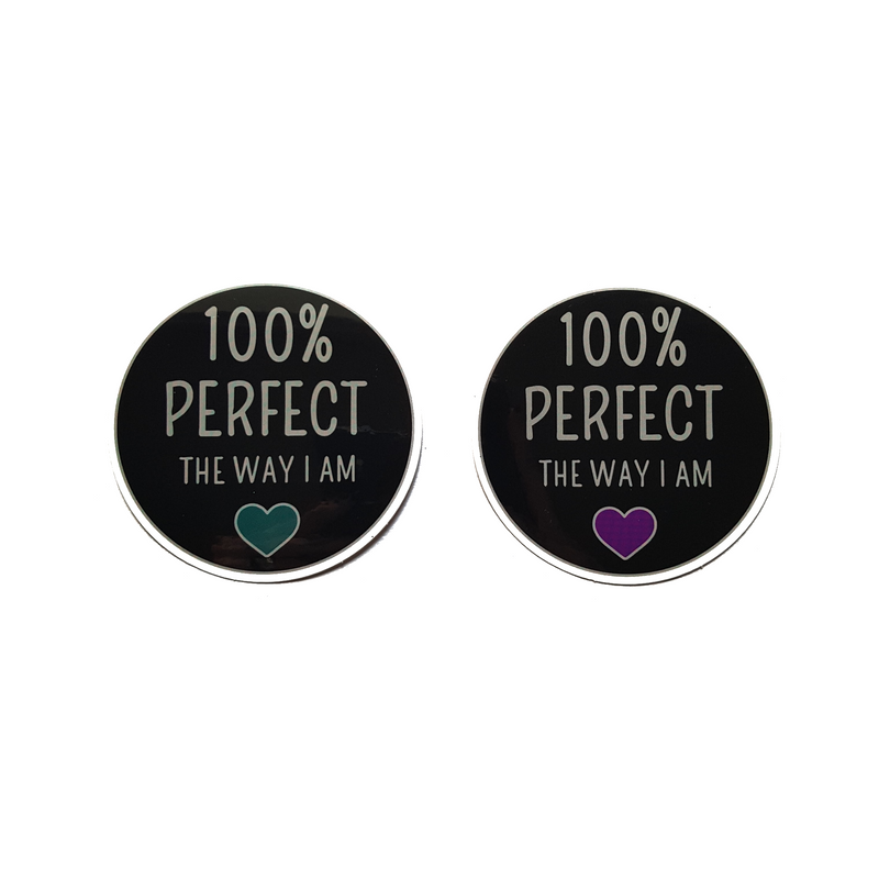 100% Perfect [Vinyl Sticker]