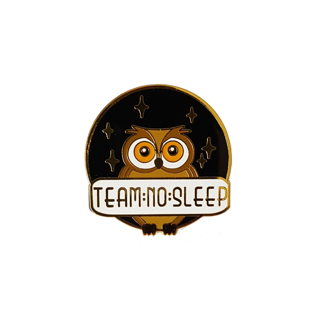 Team No Sleep [LE Pin, Gold Variant]