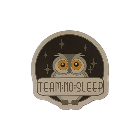 Team No Sleep Sticker - LOW STOCK