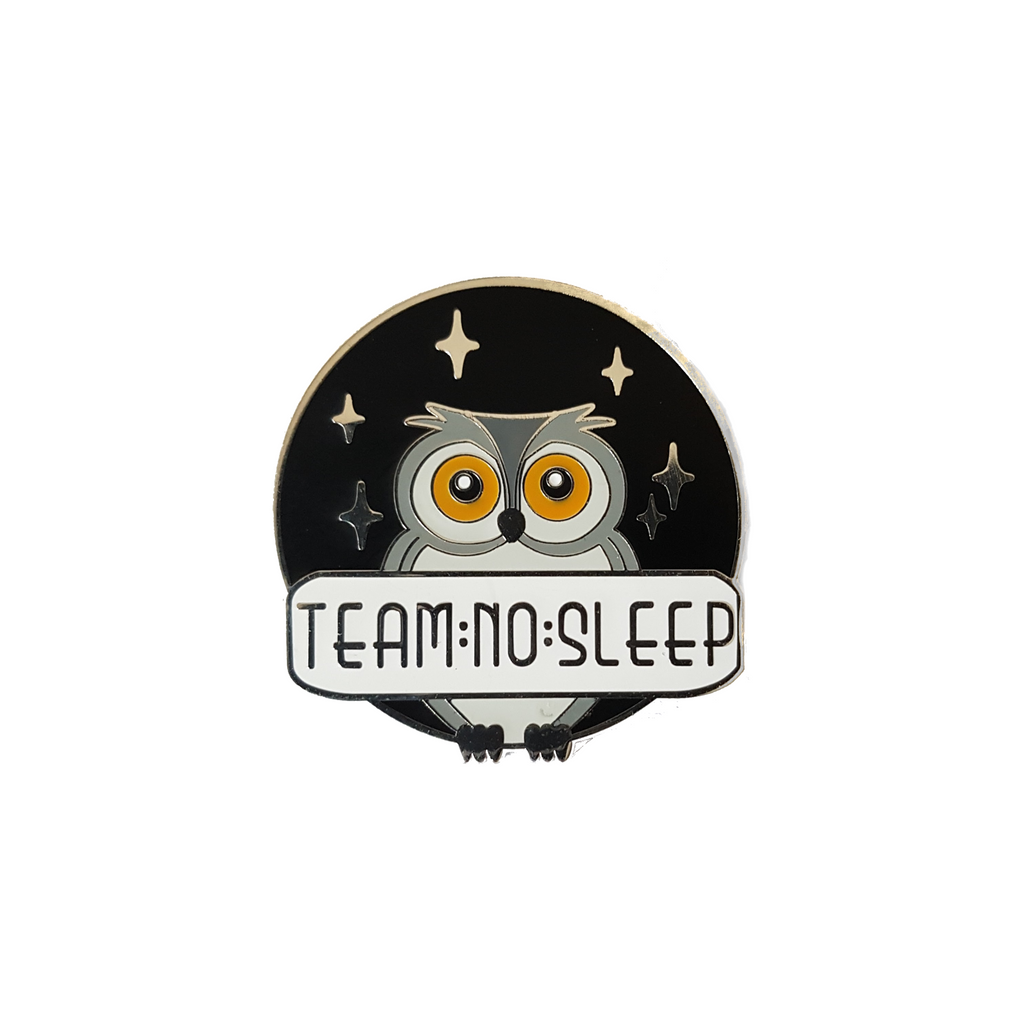 Team No Sleep [LE Pin, Silver Variant]