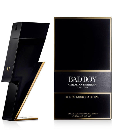Carolina Herrera Bad Boy EDT Perfume for Men 100 ml - GottaGo.in