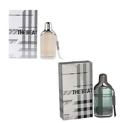 Burberry The Beat Men EDT Perfume 100 ml & The Beat Women EDP Perfume 75 ml - GottaGo.in
