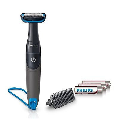 Philips BG1025/15 Body Groomer with Shower Cord for men -includes 3 AA batteries - GottaGo.in