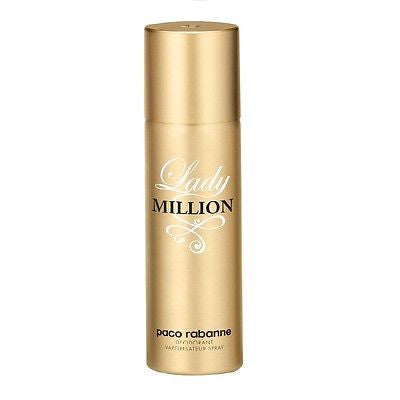 Paco Rabanne Lady Million Deodorant for Women 150 ml - GottaGo.in