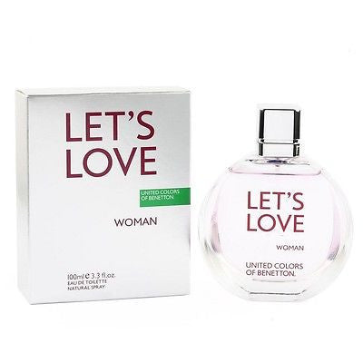 United Colours of Benetton Let's Love EDT Perfume for Women 100 ml - GottaGo.in