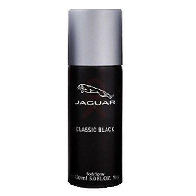 Jaguar Classic Black Body Spray Deodorant for Men 150 ml