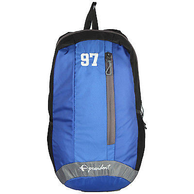 Quest Blue Backpack / School Bag by President Bags - GottaGo.in