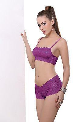 Bold Desire Babydoll Set Wine #901 - GottaGo.in