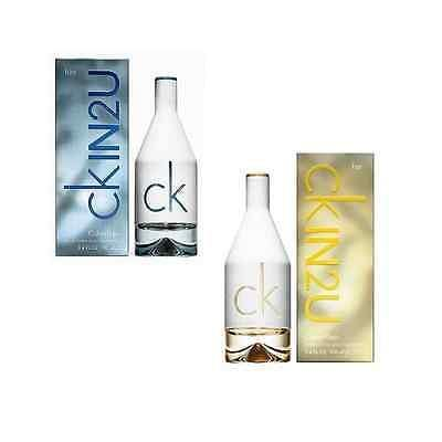 Ck IN2U by Calvin Klein EDT Perfume for Men 100 ml and EDT Perfume for Women 100 ml - GottaGo.in