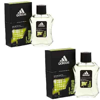 Adidas Pure Game Set EDT Perfume for Men (100 ml x 2) - GottaGo.in