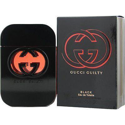 Gucci Guilty Black EDT Perfume for Women 75 ml - GottaGo.in