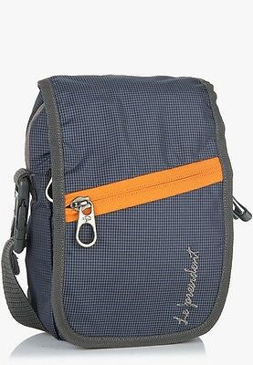 WP 03 Grey Waist Pouch / Messenger Bag / Travel Accessory by President Bags - GottaGo.in