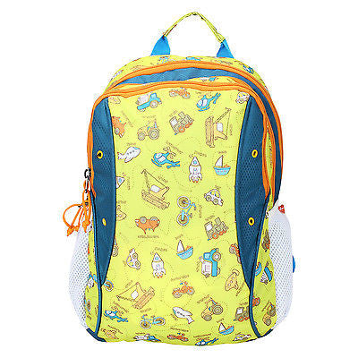 YOLO Yellow Backpack / School Bag by President Bag - GottaGo.in