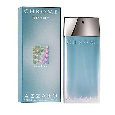Azzaro Chrome Sport EDT Perfume for Men 100 ml - GottaGo.in