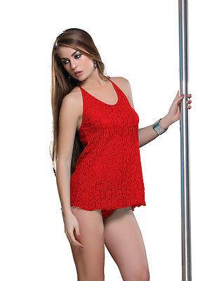 Bold Desire Babydoll Set Red #505 - GottaGo.in
