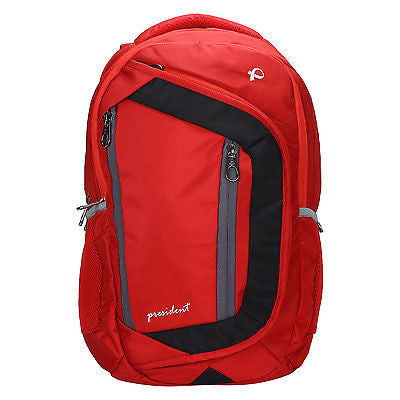 Tiger Red Backpack / School Bag by President Bags - GottaGo.in