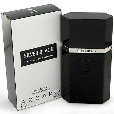 Azzaro Silver Black EDT Perfume for Men 100 ml - GottaGo.in