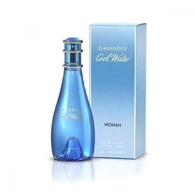Davidoff Cool Water Set - EDT Perfume 100 ml for Women + Deodorant 100 ml for Women