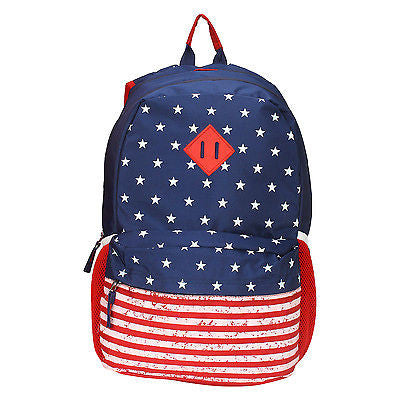 USA Blue-Red Backpack / School Bag by President Bags - GottaGo.in