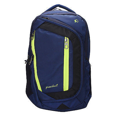 Tiger Blue Backpack / School Bag by President Bags - GottaGo.in