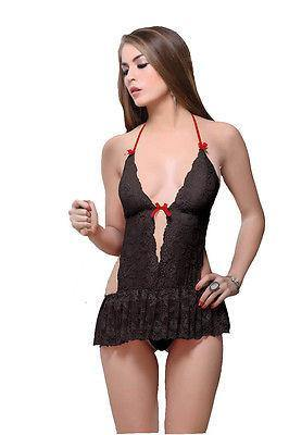 Bold Desire Babydoll Set Black #778 - GottaGo.in